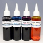 Canon Universal 16Oz 4color DYE Ink Set - PIXMA IP, IX, MG, MX