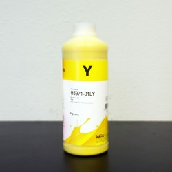 Refill 1000ml Ink for HP 971 Yellow Cartridge and CISS Premium Pigment ink