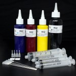 HP 952 952XL Genuine ink cartirdge Refill kit with 500ml clogging free premium pigment ink