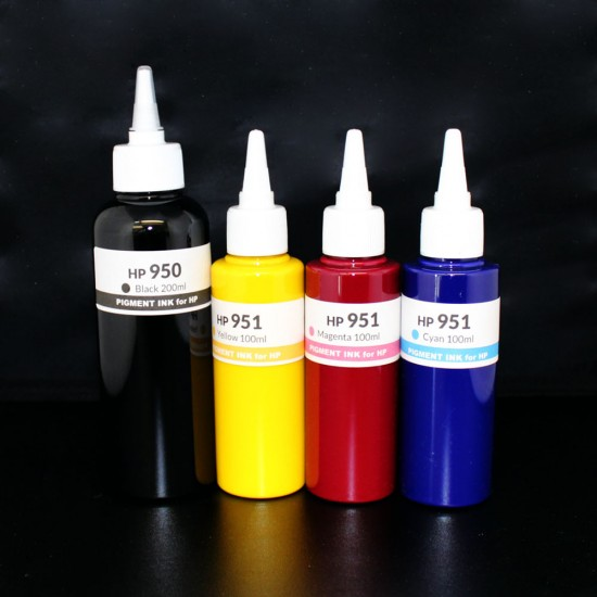 500ml Refill Kit for HP 950 951 950XL 951XL Genuine ink cartirdges - HP 8100 8600 8610 8615 8620 8625 8630 8640