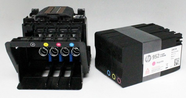HP 952 Printhead And Setup Cartridge For HP Offciejet Pro