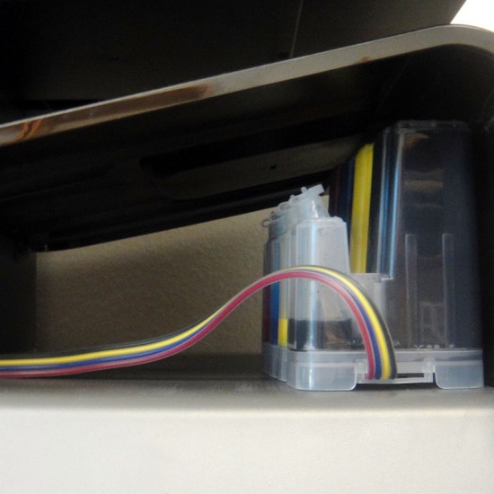 ekuten 970 Mini CISS with 950ml Premium Pigment Ink for HP Officejet Pro X451dn X451dw X476dn X476dw X576