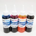 100ml 4 color UV DYE Ink Set