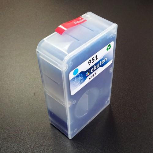 ekuten CISS II Cyan Replacement Cartridge for HP 950 951 - HP officejet pro 8600 8610 8615 8620 8625 8630 8640