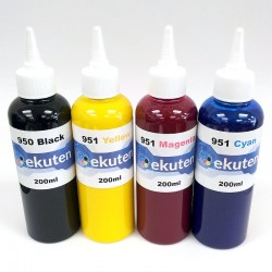 Refill 800ml Ink for HP 950 950XL 951 951XL Cartridges and CISS - Pigment ink
