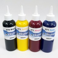 Refill 800ml Pigment ink for HP 970 971 970XL 971XL Cartridges and CISS - HP Officejet Pro X451dn, 451dw, 476dn, 476dw