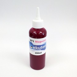 Refill 200ml Pigment Ink for HP 971 Magenta Cartridge and CISS - HP Officejet Pro X451dn, 451dw, 476dn, 476dw