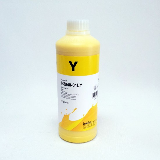 Refill 1000ml Ink for HP 951 Yellow Cartridges and CISS - Pigment ink