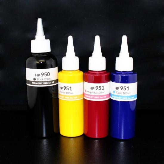 500ml Refill Kit for HP 950 951 950XL 951XL Genuine ink cartirdges - HP 8100 8600 8610 8615 8620 8625 8630 8640