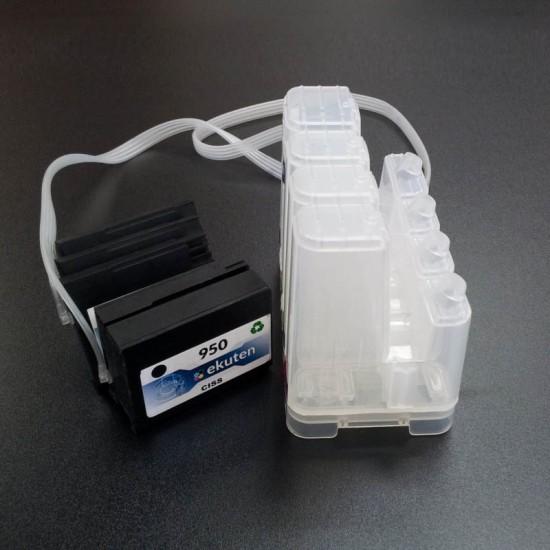 HP 950 Empty CISS (With Cartridges) - HP Officejet Pro 8100, 8600, 8610, 8620, 8625, 8630