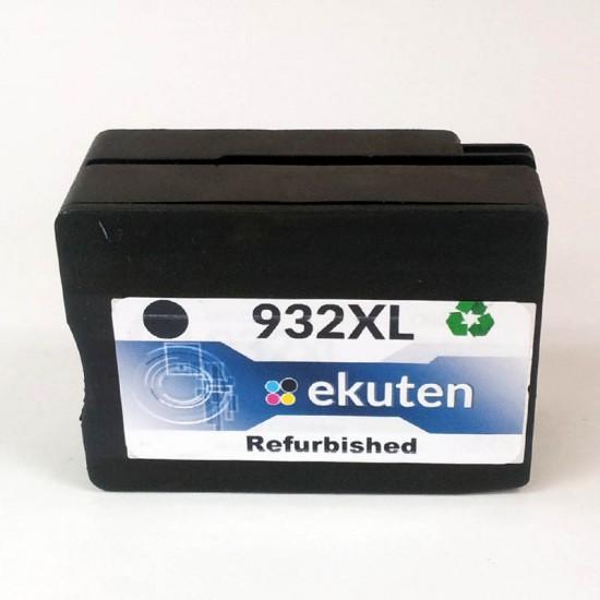 HP 932XL Black Refurbished Cartridge