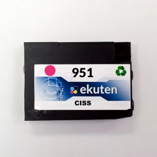 HP 950, 951 CISS Replacement Magenta Cartridge