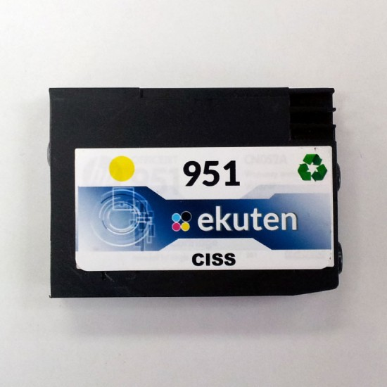 HP 950, 951 CISS Replacement Yellow Cartridge